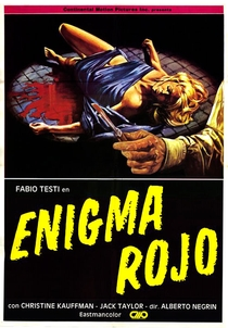 Enigma Rosso - Poster / Capa / Cartaz - Oficial 1