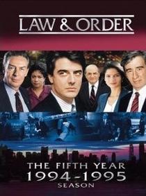 Lei & Ordem (5ª Temporada) - Poster / Capa / Cartaz - Oficial 1