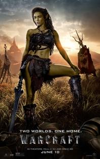 Warcraft: O Primeiro Encontro de Dois Mundos - Poster / Capa / Cartaz - Oficial 23