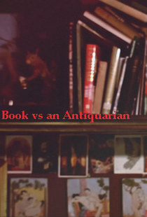 Book vs an Antiquarian - Poster / Capa / Cartaz - Oficial 1