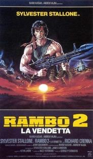 Rambo II - A Missão - Poster / Capa / Cartaz - Oficial 10