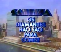 Sabrina: Os Diamantes Não São para Comer  - Poster / Capa / Cartaz - Oficial 1