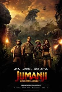 Jumanji: Bem-Vindo à Selva - Poster / Capa / Cartaz - Oficial 2