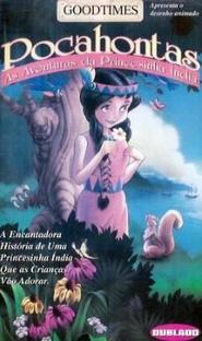 Pocahontas - As Aventuras da Princesinha Índia - Poster / Capa / Cartaz - Oficial 2