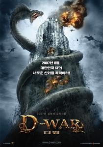 D-War - Guerra dos Dragões - Poster / Capa / Cartaz - Oficial 1