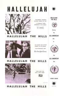 Hallelujah the Hills - A Romance  - Poster / Capa / Cartaz - Oficial 1