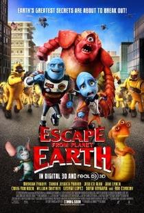 A Fuga do Planeta Terra - Poster / Capa / Cartaz - Oficial 10