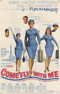 Vem Voar Comigo - Poster / Capa / Cartaz - Oficial 1