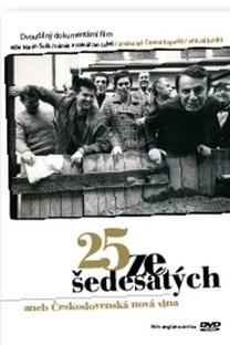 25 dos anos sessenta ou Nova Onda Checoslovaca - Poster / Capa / Cartaz - Oficial 1