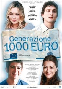 Generazione mille euro - Poster / Capa / Cartaz - Oficial 1