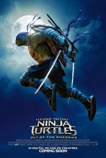 As Tartarugas Ninja: Fora das Sombras - Poster / Capa / Cartaz - Oficial 19
