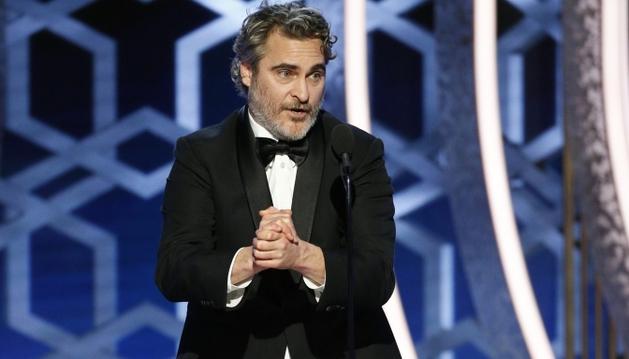 Joaquin Phoenix tornou o Globo de Ouro vegano