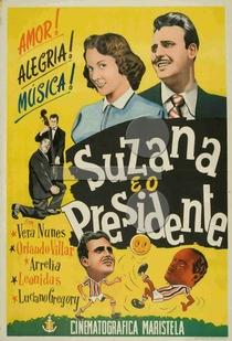 Suzana e o Presidente - Poster / Capa / Cartaz - Oficial 1