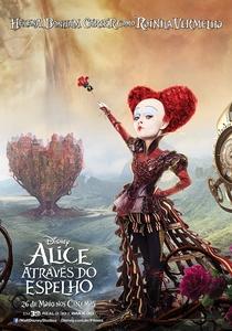 Alice Através do Espelho - Poster / Capa / Cartaz - Oficial 10
