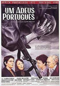 Um Adeus Português - Poster / Capa / Cartaz - Oficial 1