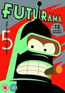 Futurama (5ª Temporada) - Poster / Capa / Cartaz - Oficial 2