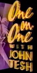 One on One with John Tesh (1ª Temporada) - Poster / Capa / Cartaz - Oficial 1