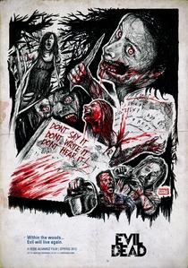 A Morte do Demônio - Poster / Capa / Cartaz - Oficial 6
