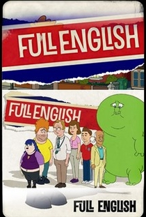 Full English (1ª Temporada) - Poster / Capa / Cartaz - Oficial 1