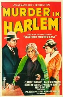 Murder in Harlem - Poster / Capa / Cartaz - Oficial 1
