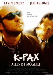 K-Pax - O Caminho da Luz - Poster / Capa / Cartaz - Oficial 2