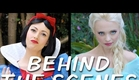 SNOW WHITE vs ELSA Behind the Scenes (Princess Rap Battle)