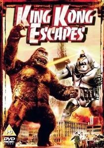A Fuga de King Kong - Poster / Capa / Cartaz - Oficial 1