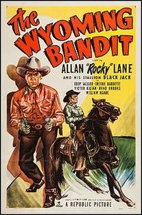 Bandido de Wyoming - Poster / Capa / Cartaz - Oficial 1