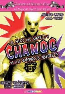 Chanoc y el Hijo del Santo Contra los Vampiros Asesinos - Poster / Capa / Cartaz - Oficial 1