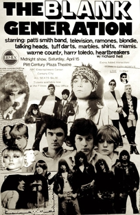 The Blank Generation - Poster / Capa / Cartaz - Oficial 2