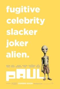 Paul: O Alien Fugitivo - Poster / Capa / Cartaz - Oficial 3