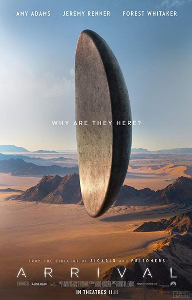 Arrival, um filme sobre aliens e linguística