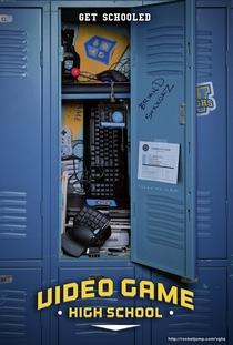 Video Game High School (1ª Temporada) - Poster / Capa / Cartaz - Oficial 1