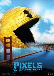 Pixels: O Filme - Poster / Capa / Cartaz - Oficial 1