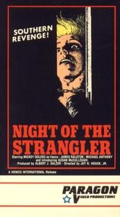 The Night Of The Strangler - Poster / Capa / Cartaz - Oficial 1