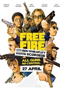 Free Fire: O Tiroteio - Poster / Capa / Cartaz - Oficial 4