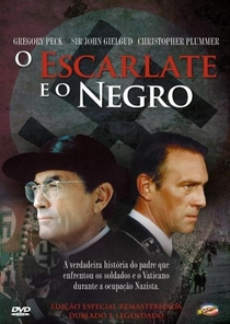 O Escarlate e o Negro - Poster / Capa / Cartaz - Oficial 5