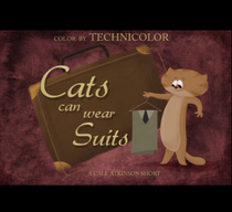 Cats can wear Suits - Poster / Capa / Cartaz - Oficial 1