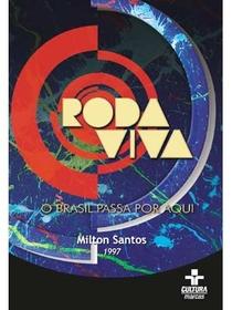 Roda Viva: Milton Santos - Poster / Capa / Cartaz - Oficial 1