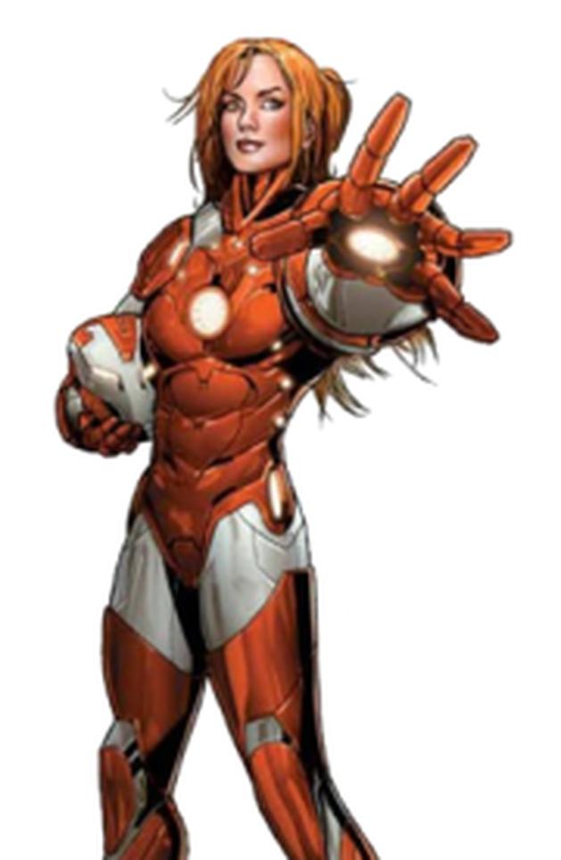 Veremos Pepper Potts com sua própria armadura em Homem de Ferro3!