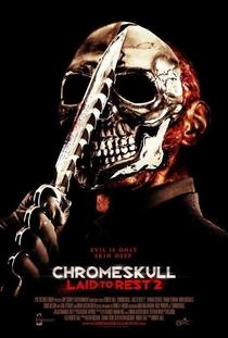 Chromeskull 2: Não Descanse em Paz - Poster / Capa / Cartaz - Oficial 1