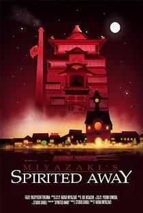 A Viagem de Chihiro - Poster / Capa / Cartaz - Oficial 5