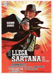Sartana Está Chegando - Poster / Capa / Cartaz - Oficial 1