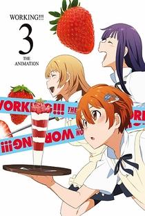 Working!! (3ª Temporada) - Poster / Capa / Cartaz - Oficial 3