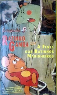 As Aventuras do Ratinho Gamba - Poster / Capa / Cartaz - Oficial 3
