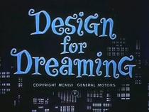 Design for Dreaming  - Poster / Capa / Cartaz - Oficial 2