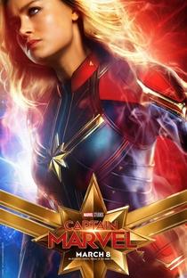 Capitã Marvel - Poster / Capa / Cartaz - Oficial 8