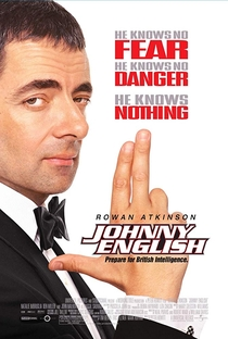 Johnny English - Poster / Capa / Cartaz - Oficial 1