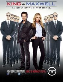 King & Maxwell (1ª Temporada) - Poster / Capa / Cartaz - Oficial 1