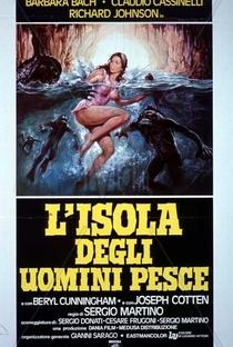 A Ilha dos Homens-Peixe - Poster / Capa / Cartaz - Oficial 1